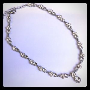 Charter club fancy rhinestone necklace necklace